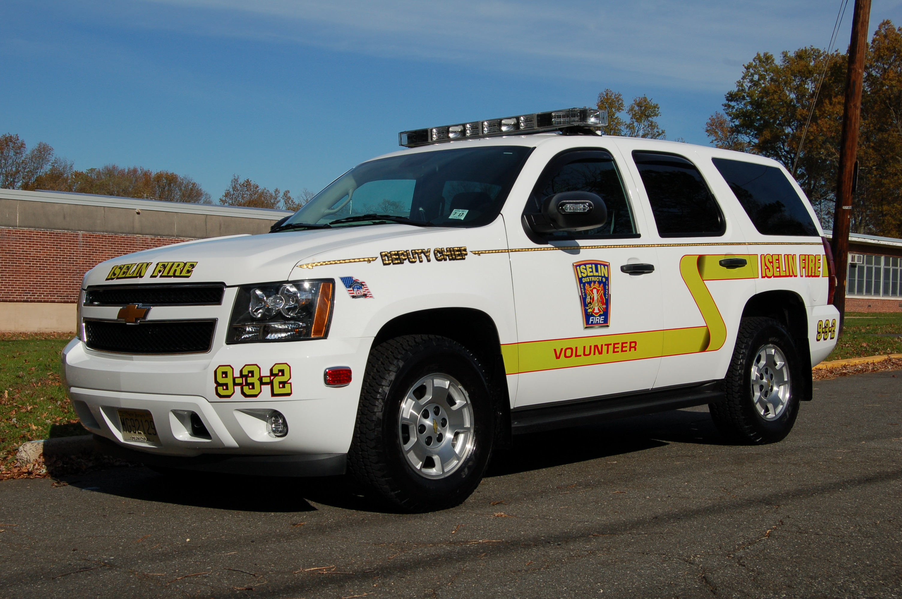 Iselin Volunteer Fire Company 1 District 9