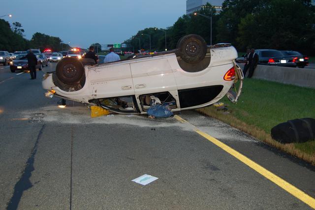 MVA Garden State Parkway Milepost 131.7 North September 28, 2012.