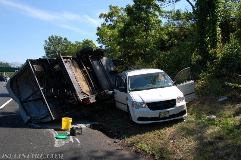 Accident On Garden State Parkway Iselin Volunteer Fire Company 1 District 9