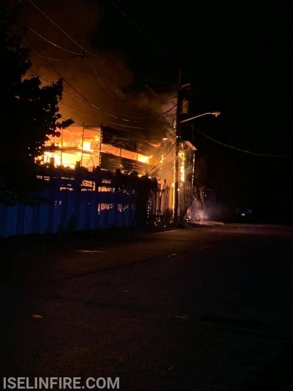 Avenel Junkyard Fire 7/21
